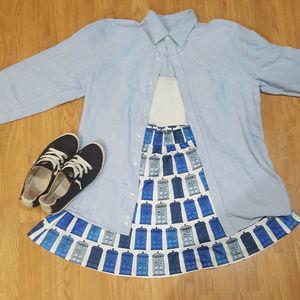 Doctor Who Tardis Skater Skirt
